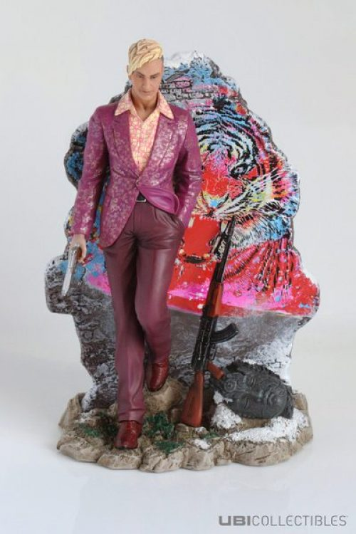 Pagan Min of Far Cry 4 Immortalized in Figurine Form