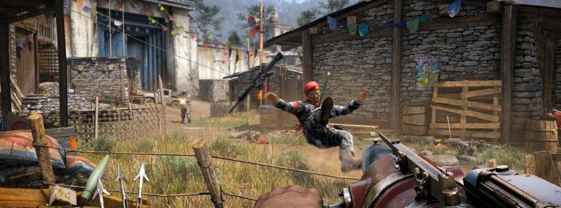 Fortress Sieging with an Elephant in Far Cry 4
