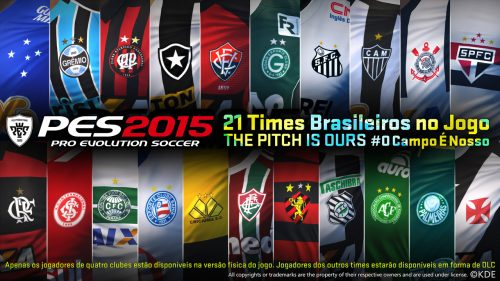 Brazilian Commentators Confirmed for Pro Evolution Soccer 2015, New Trailer from BGS
