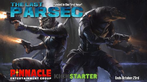 The Last Parsec Over 800% Funded on Kickstarter
