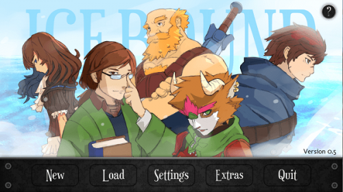 Visual Novel Icebound on Steam Greenlight; voice pack in the works