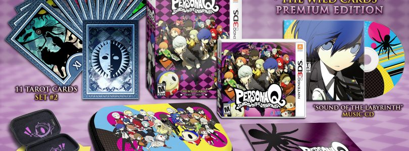 Persona Q retail designs and English Naoto and Ken character trailers released