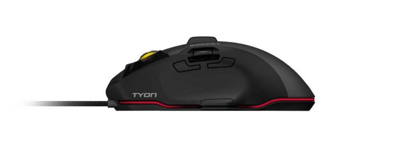 Roccat Tyon Gaming Mouse Now Available in US, Europe, and Australia