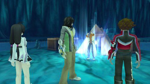 Tales of Hearts R screenshots focus on Spiria Nexus