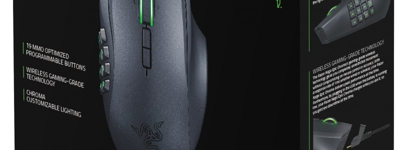 Razer Naga Epic Chroma Wired/Wireless MMO Gaming Mouse Review
