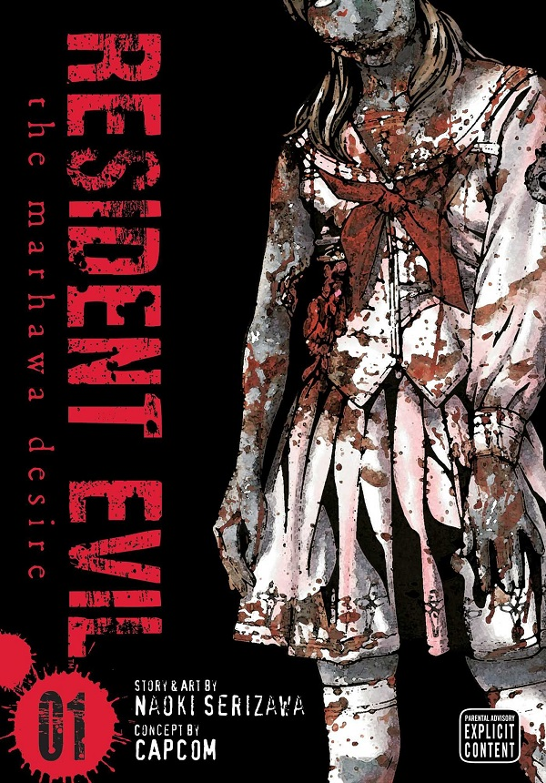 resident-evil-The-Marhawa-desire-volume-1-cover