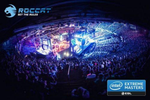 Roccat Sponsoring Intel Extreme Masters Season 9 Tournament Series