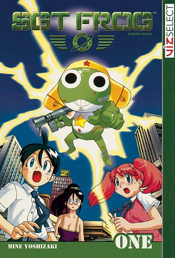 sgt-frog-volume-1-cover