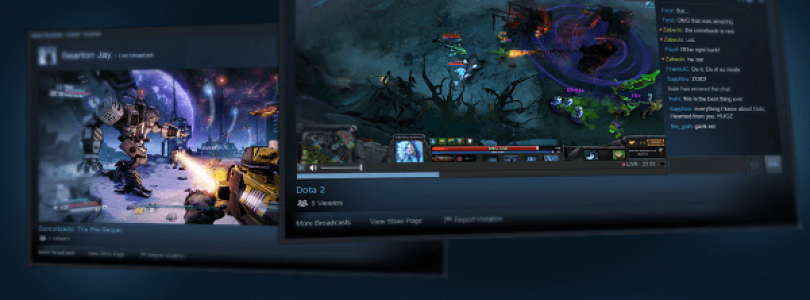 Steam Introduces Broadcasting Beta