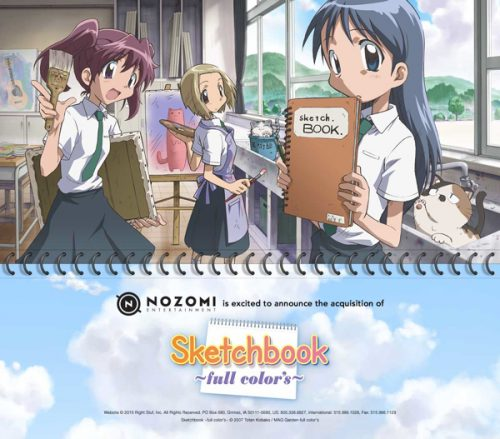 Nozomi Entertainment Acquires 'Sketchbook ~full color's~'