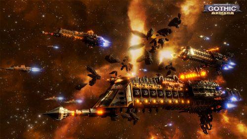 Warhammer 40k based RTS Battlefleet Gothic: Armada Announced
