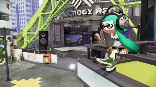 Splatoon to be released on the Wii U in May
