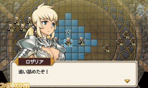 Langrisser series revived; new title announced for Nintendo 3DS