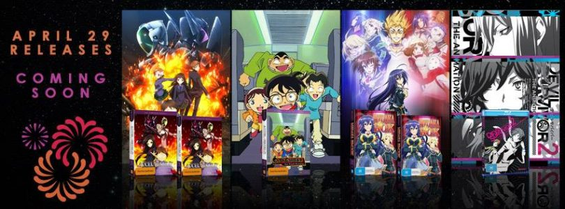 Hanabee Reveals April 29, 2015 Anime Releases