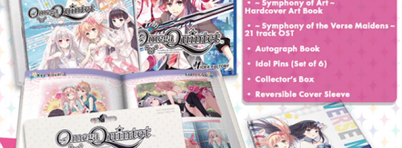 Omega Quintet Limited Edition Announced; Pre-Orders Open April 2nd