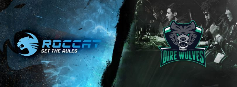 Dire Wolves Announces Roccat as new Main Sponsor