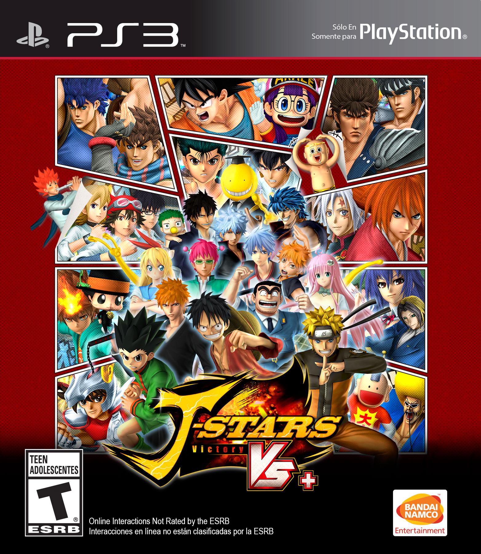 J-Stars Victory VS Plus -DUPLEX -PS3 (EUR)
