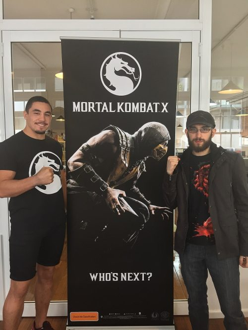 Facing UFC Fighter Robert Whittaker in Mortal Kombat X