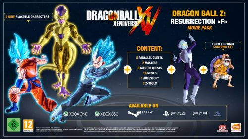 Full Dragon Ball Xenoverse DLC Pack 3 Contents Screenshots