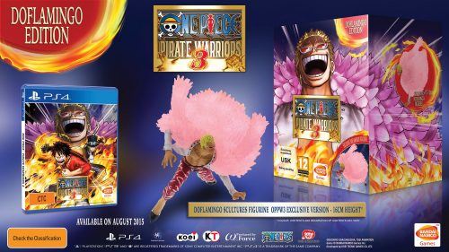 "One Piece: Pirate Warriors 3's ""Doflamingo Edition"" Announced with Pre-Order Bonuses"