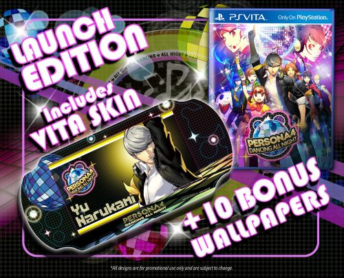 "Persona 4: Dancing All Night ""Disco Fever"" Limited Edition Announced for North America"