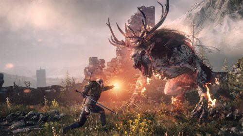 So Many Monsters in The Witcher 3…