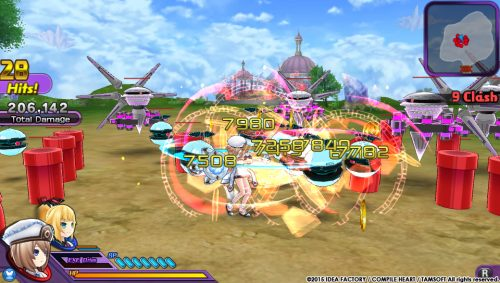 Hyperdimension Neptunia U Combat Screenshots Released