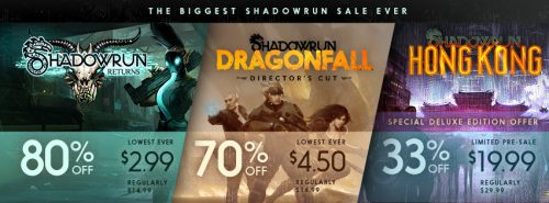 Celebrate 3 Years of Harebrained Schemes and Shadowrun with New Trailer and a Sale