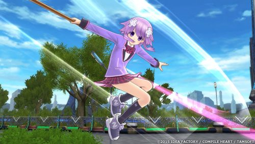 New Extreme Dimension Tag Blanc + Neptune Vs. Zombie Army Screenshots