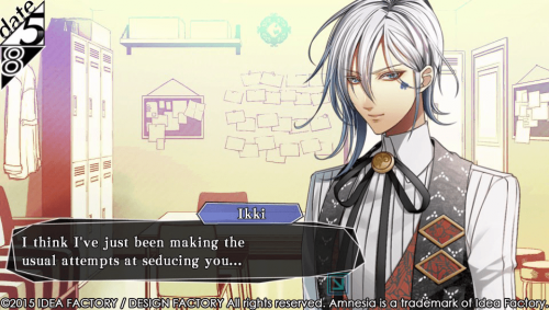 Ikki Introduced in Latest Amnesia: Memories Screenshots