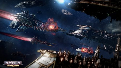 Tindalos Interactive Unleashes a Barrage of Battlefleet Gothic: Armada Screenshots