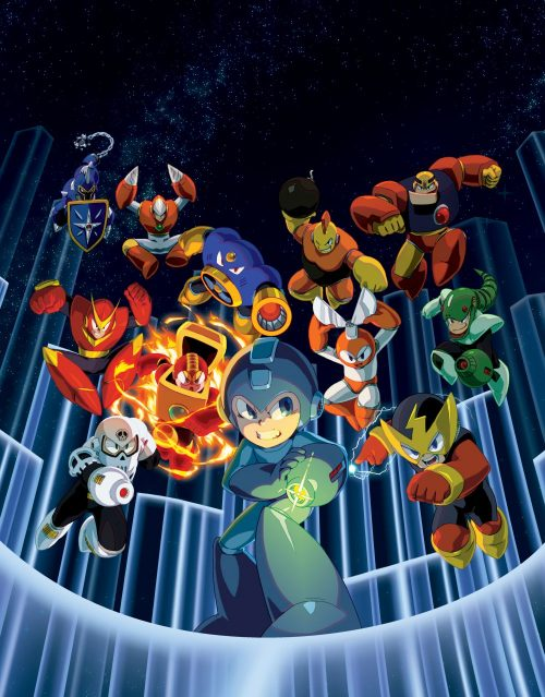 Capcom to Release Mega Man Legacy Collection