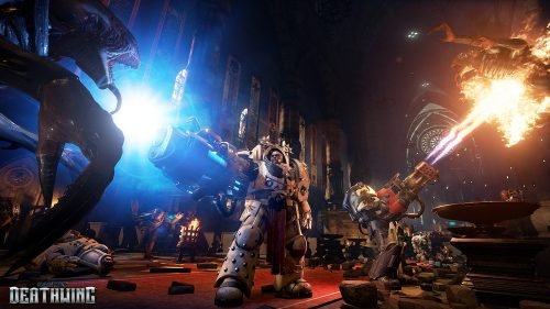 New Space Hulk: Deathwing Screenshots Revealed