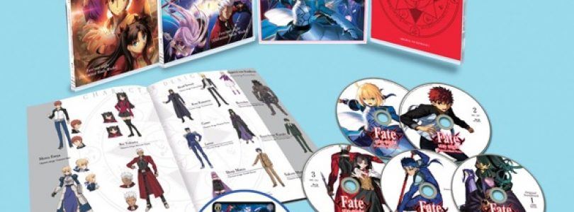 Aniplex USA to Release DVD and Blu-ray Box Sets of 'Fate/stay night [Unlimited Blade Works]' Season 1