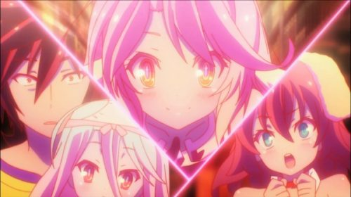 Sentai Filmworks Reveals the Full 'No Game No Life' English Dub Cast