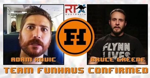 Funhaus' Adam Kovic and Bruce Greene Confirmed as Guests for RTX Australia 2016