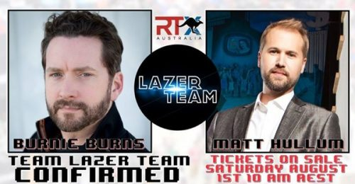 Burnie Burns and Matt Hullum Are Coming to RTX Australia
