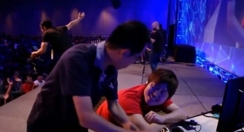Guilty Gear Xrd Player Loses For Celebrating too Early at EVO