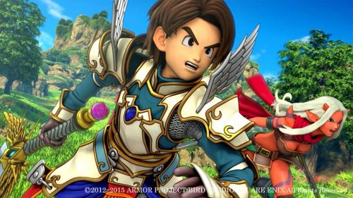 Dragon Quest X Announced for the PlayStation 4