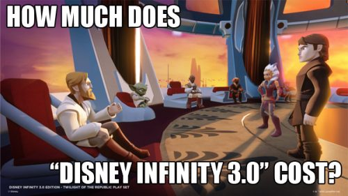 """How Much Does """"Disney Infinity 3.0"""" Cost?"""