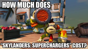 "How Much Does ""Skylanders: Superchargers"" Cost?"