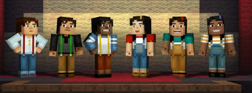 Selectable Player Characters Announced for Minecraft: Story Mode