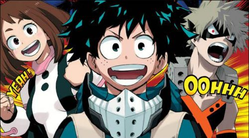 My Hero Academia Volume 1 Released in Print in North America