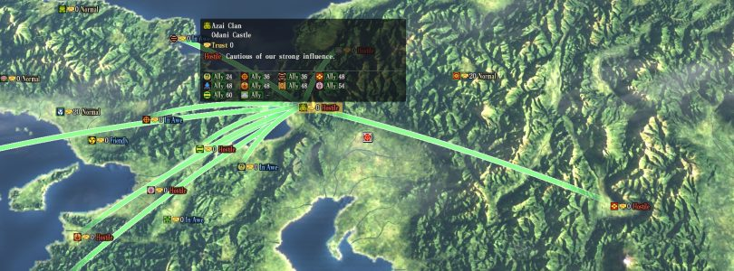 Nobunaga's Ambition: Sphere of Influence's Latest Trailer Focuses on Diplomacy