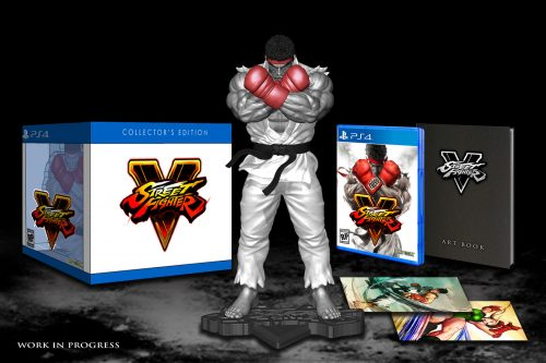 Street Fighter V Collector's Edition and Pre-Order Bonuses Announced