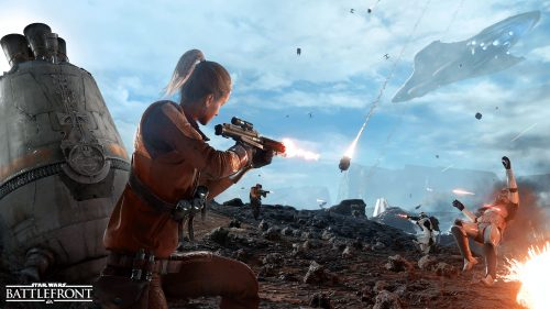 Star Wars Battlefront 'Drop Zone' Multiplayer Mode Detailed