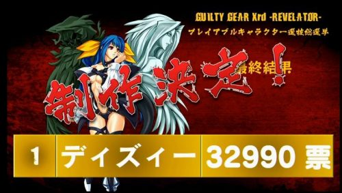 Guilty Gear Xrd: Revelator Popularity Poll Reveals Dizzy as Next Playable Character