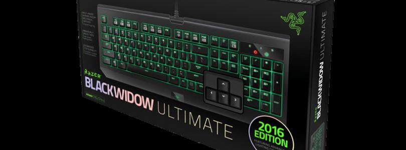 Razer Announces New Razer Blackwidow Ultimate for 2016