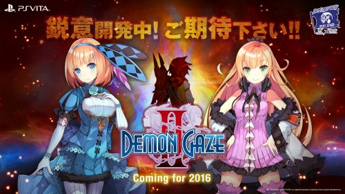 Demon Gaze II Announced for 2016 Release on PS Vita