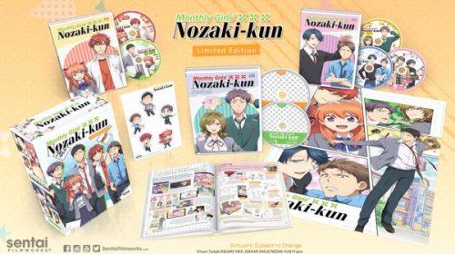 Sentai Filmworks Reveals the 'Monthly Girls' Nozaki-kun' Premium Box Set Contents